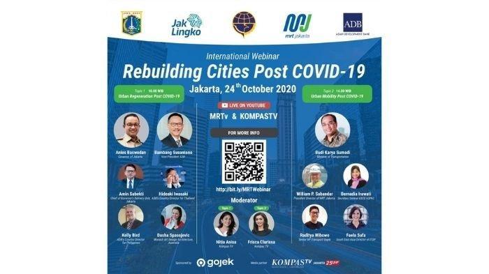 Jangan Lupa Daftar International Webinar Rebuilding Cities Post COVID-19