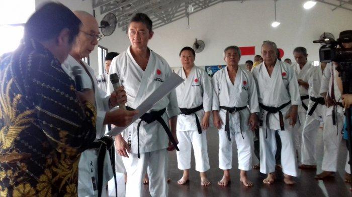 Guru Besar Japan Karate Association: Saya Bangga dan Saya Ingin Mengembangkan Karate di Indonesia