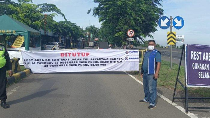Hari Ini Jasa Marga Tutup Sementara Rest Area KM 52B Arah Jakarta