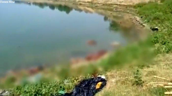 Puluhan Mayat Pasien Covid-19 Mengapung di Sungai Gangga, Diduga Keluarga Tak Mampu Mengkremasi