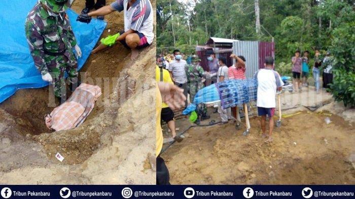 Kasus penemuan jasad Junjung Siregar (22) yang terkubur di belakang rumah warga di Desa Petani Kecamatan Bunut pada Jumat (5/7/2019) lalu akhirnya terungkap.
