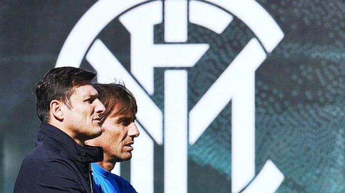 Javier Zanetti dan Antonio Conte