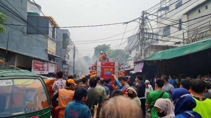 Warung Soto Lamongan di Sawah Besar Kebakaran, Ketua RW Dengar 2 Kali Ledakan