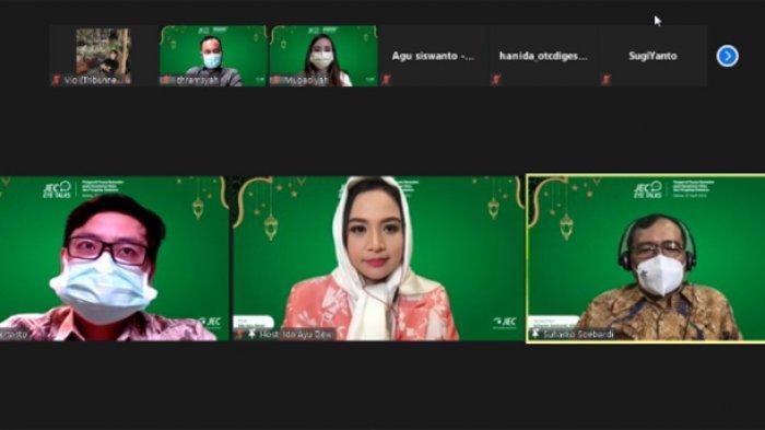 """JEC Eye Talks Virtual, """"Pengaruh Puasa Ramadan pada Kesehatan Mata dan Pengidap Diabetes"""", Selasa (27/4/2021)."""