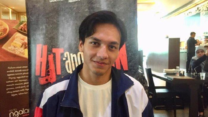 Aktor muda Jefri Nichol saat ditemui di mall FX Sudirman, Jakarta Selatan, Sabtu (23/3/2019).
