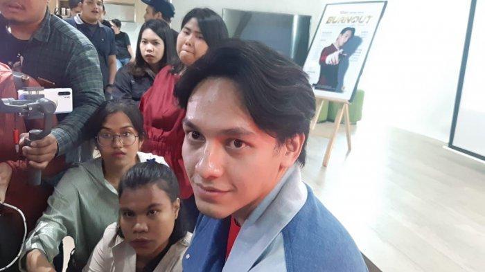 Jefri Nichol saat ditemui di kawasan Senayan Jakarta Selatan, Senin (2/3/2020).