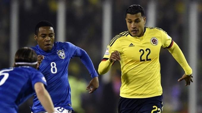Brasil vs Kolombia:Brasil Ditekuk Kolombia 0-1