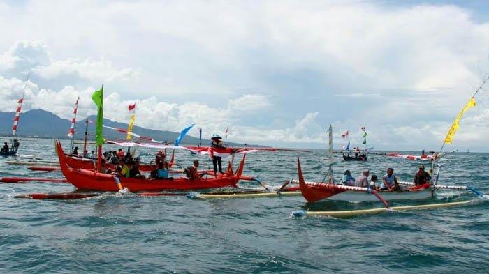 Kampanye Potensi Wisata Bahari Banyuwangi, 130 Armada Perahu Jelajahi Selat Bali