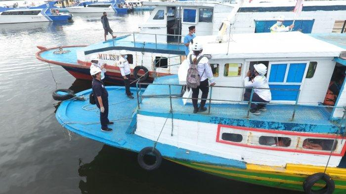 Jelang Angkutan Laut Nataru, Kemenhub Uji Petik Kapal Tradisional di Muara Angke