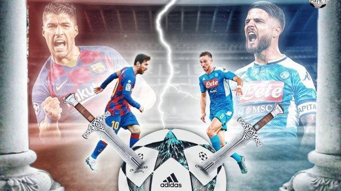 Jelang duel leg kedua babak 16 Liga Champions, Barcelona vs Napoli