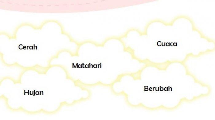 Jelaskan Makna Kata Matahari, Cerah, Hujan, Berubah, Cuaca, Kunci Jawaban Tema 5 Kelas 3 Subtema 3