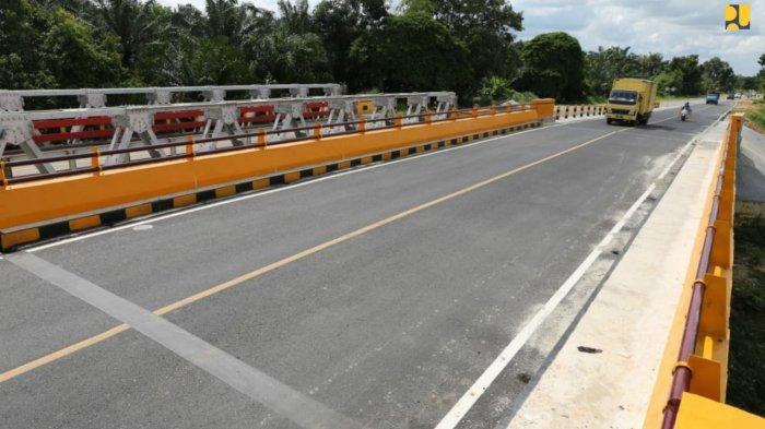 Kementerian PUPR Tuntaskan Pembangunan Tiga Jembatan Ganda Jalur Riau-Sumbar