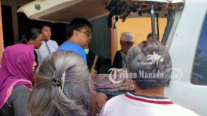 Suami istri tewas mengenaskan dalam kosan di Kelurahan Komo Luar, Kecamatan Wenang, Kota Manado, Sulut, Sabtu (11/1/2020) setelah diautopsi pada Minggu pagi.