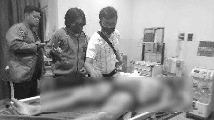 Marasalem Harahap alias Marsal, wartawan media online yang tewas ditembak OTK, Sabtu (19/62021) dinihari.