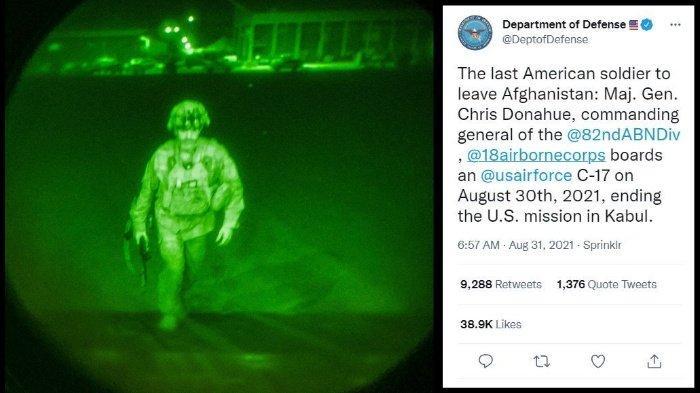 Mayor Jenderal Chris Donahue, Tentara Amerika Terakhir yang Meninggalkan Afghanistan