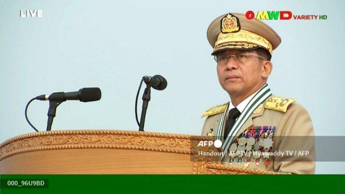 SOSOK Min Aung Hlaing, Pemimpin Junta Militer Myanmar yang Dijadwalkan Hadir di KTT ASEAN Hari Ini