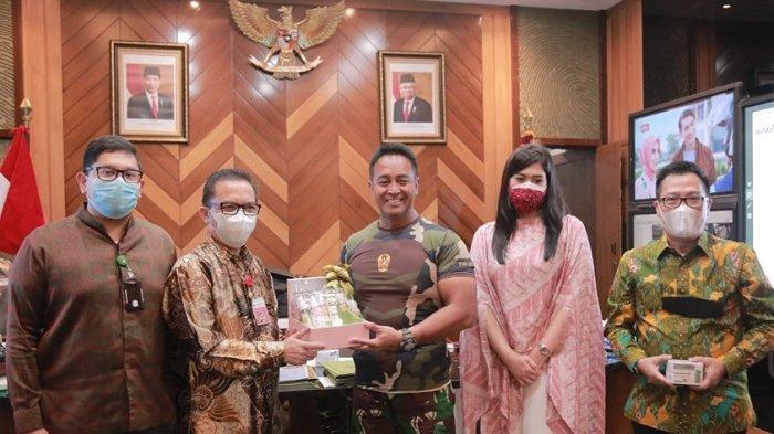 RSAD di Pulau Jawa Terima Bantuan Herbal dan Hand Sanitizer