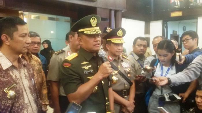 Panglima TNI Tegaskan Tak Ada Baku Tembak Dalam Insiden Tinombala