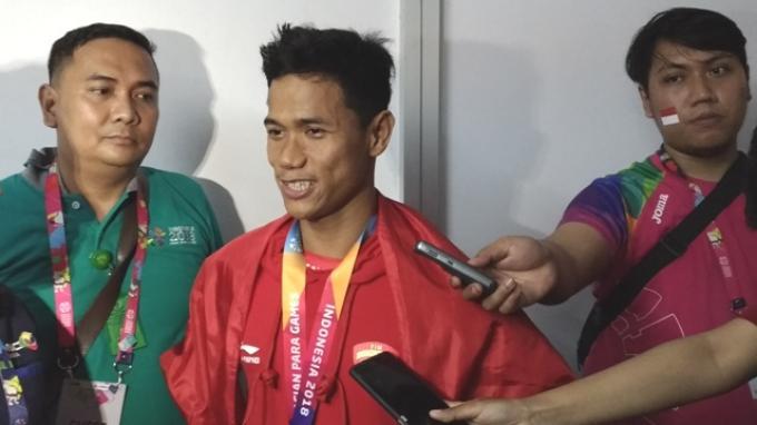 Peraih Emas Indonesia di Para-Swimming Asian Para Games 2018 Serukan Ini di Laga Pamungkas