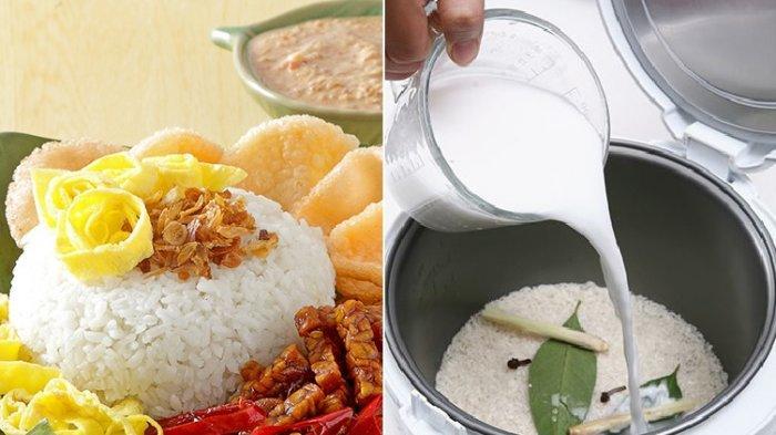 Cara Masak Nasi Uduk yang Enak Hanya Pakai Rice Cooker, Perhatikan 3 Tips Berikut Ini