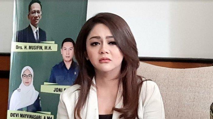 Jenita Janet ketika ditemui di Pengadilan Agama Bekasi, Jawa Barat, Selasa (4/8/2020)