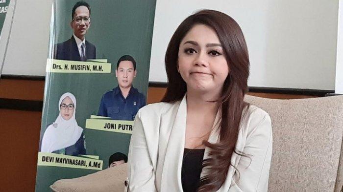 Jenita Janet ketika ditemui di Pengadilan Agama Bekasi, Jawa Barat, Selasa (4/8/2020).