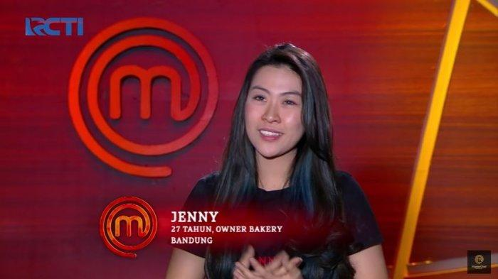 Jenny tereliminasi pada babak Top 6, Sabtu (7/8/2021).