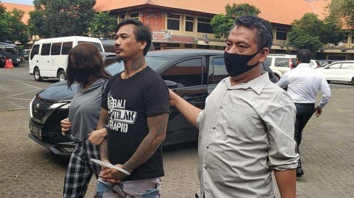 Jerinx saat dibawa ke Rutan Polda Bali untuk ditahan, Rabu 13 Agustus 2020.