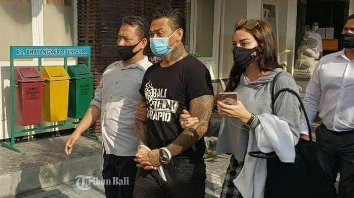 Jerinx SID di Rutan Polda Bali, Denpasar, Bali, Rabu (12/8/2020)