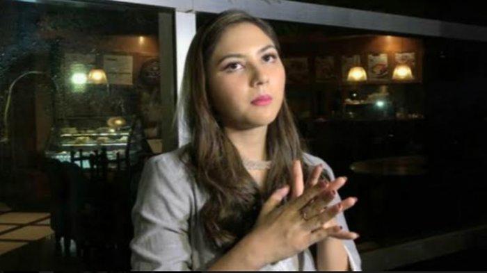 Jessica Mila ketika ditemui di gedung Trans TV, Jalan Kapten Tendean, Mampang Prapatan, Jakarta Selatan, Kamis (13/8/2020) malam.
