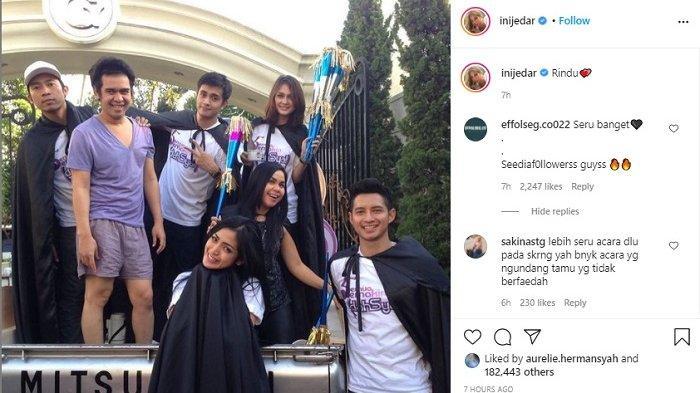 Jessica Iskandar unggah momen lawas bareng Olga Syahputra