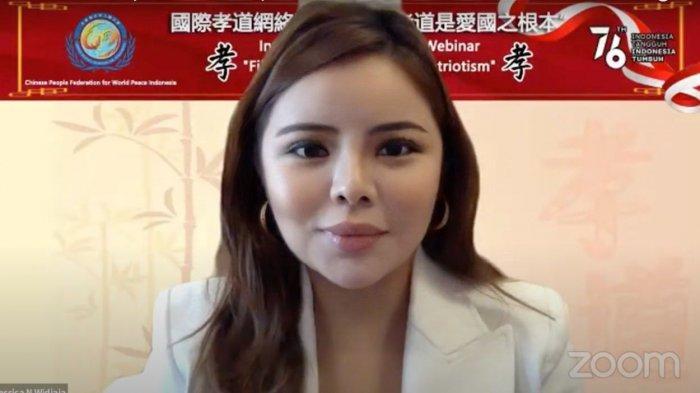 Jessica Widjaja Wakili Indonesia di International Webinar Chinese People Federation for World Peace