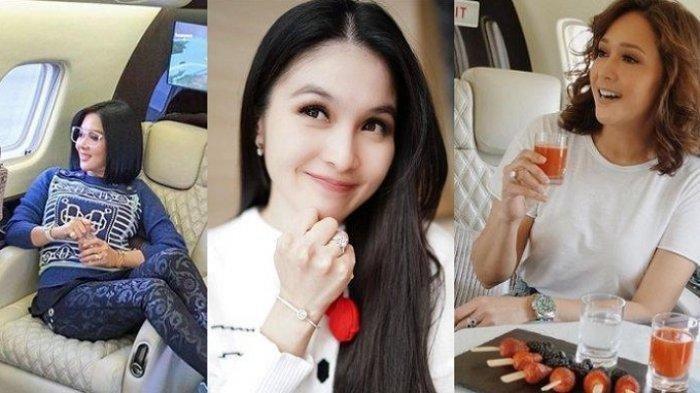 6 Gaya Artis Naik Jet Pribadi, dari Maia Estianty, Syahrini, Sandra Dewi, Siapa Paling Elegan?