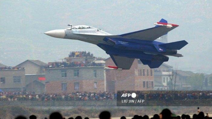 Taiwan Laporkan Serangan Besar-besaran oleh Angkatan Udara China