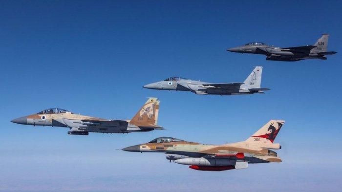 Pasukan Udara Israel Gempur Sasaran Militer Dekat Damaskus Suriah