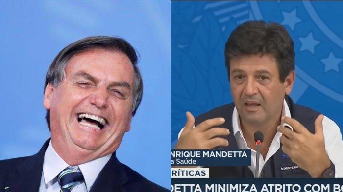 Presiden Bolsonaro Berhentikan Menteri Kesehatan Brasil