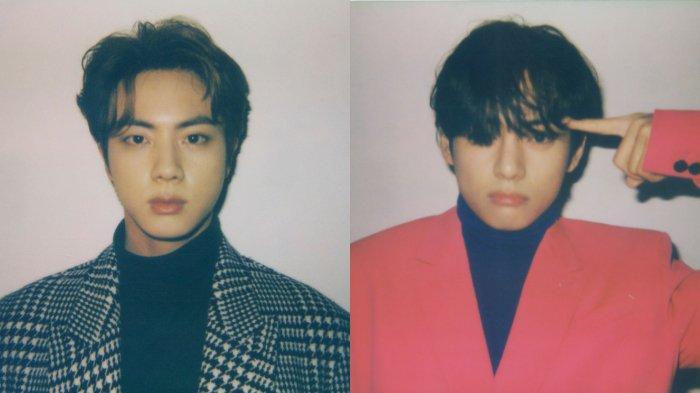 25 Idol K-Pop Paling Tampan Menurut Fans, Jin BTS Peringkat Pertama, V BTS di Nomor Dua