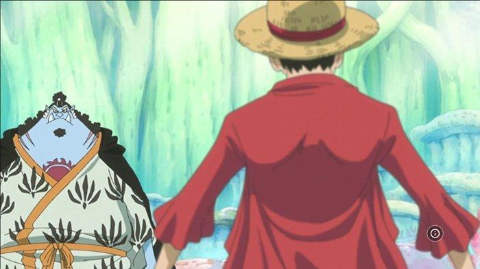 Jinbe dan Luffy. Berikut Spoiler One Piece 997 Bahasa Indonesia: Chopper Membuat Penawar Virus Queen, Minggu Depan Libur