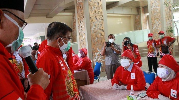 Jusuf Kalla Buka Kegiatan 2 Juta Vaksinasi PMI di Sleman