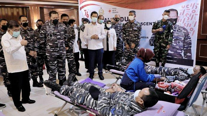 Jusuf Kalla: Stok Plasma Konvalensen di PMI Ada 600 Sementara Waiting List 3.000 Per Hari