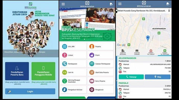 Cara Gunakan Aplikasi Jkn Mobile Akses Jkn Kis Hanya Melalui Ponsel Pribadi Tribunnews Com Mobile