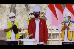 Bendungan Tapin di Kalsel yang Diresmikan Jokowi Habiskan Anggaran Hampir Rp 1 Triliun