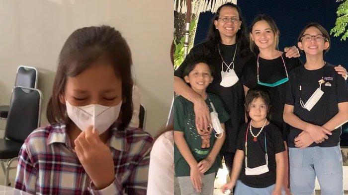 Momen Anak Kedua Raditya Oloan dan Joanna Alexandra Menangis saat Berikan Barang Kesukaan sang Ayah
