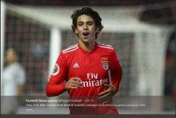 Joao Felix, pemain muda Benfica.
