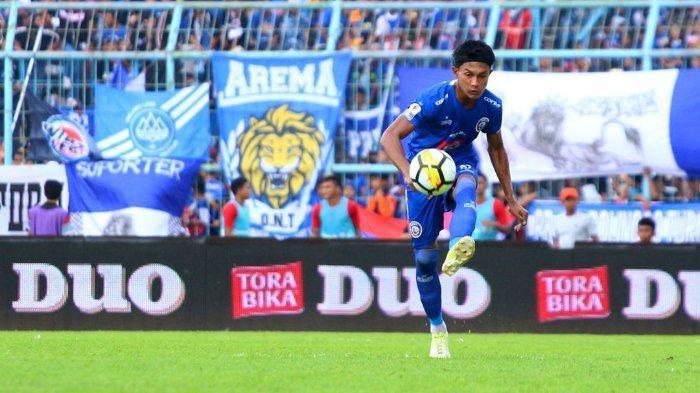 Bek Arema FC Jelaskan Rasanya Berlatih Sendiri, Tidak Bisa Bercanda dengan Rekan Setim