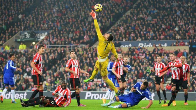 Sunderland vs Chelsea: Pemain Chelsea Sulit Jebol Gawang Sunderland Skor Akhir 0-0