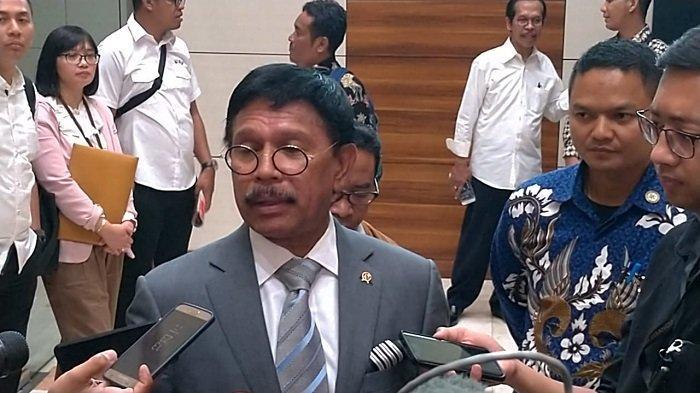 Menkominfo Johnny G Plate Siap Bantu Sri Mulyani Kejar Pajak Netflix