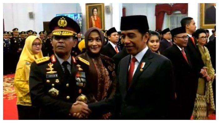 Jokowi resmi lantik Idham Azis sebahao Kapolri