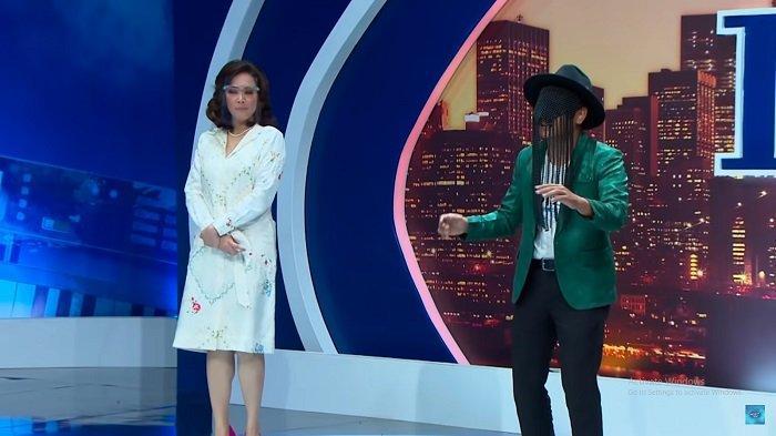 Joko bersama Maia Estianty saat audisi Indonesian Idol 2020.