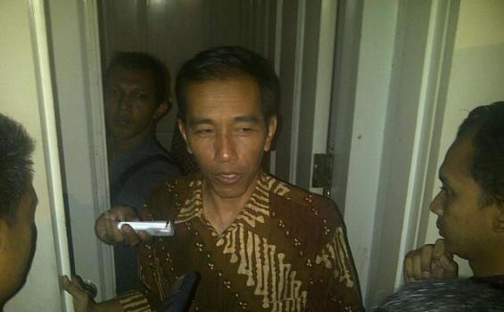 Gubernur Jokowi Berharap Tak Ada Banjir